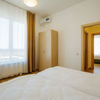 "Номер ""Апартамент с 2 спальнями с кухней вид на море (Морской квартал)"""
