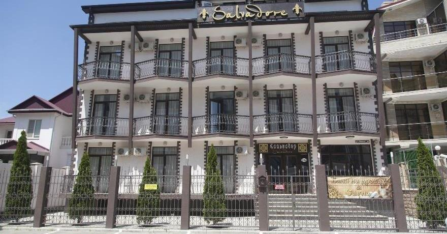 Официальное фото Гостевого дома Сальвадор Holiday Hotel & Aqua-zone  звезды