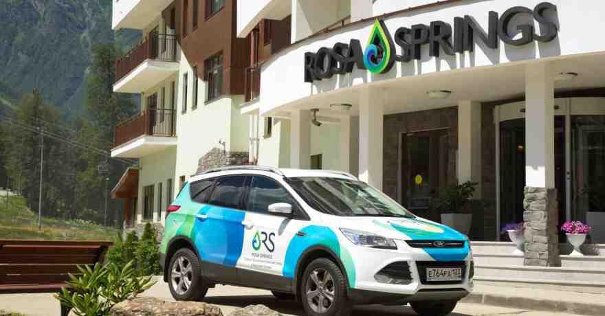 Официальное фото СПА-Отеля Rosa Springs 4 звезды