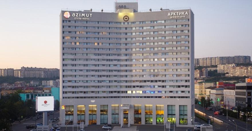 Официальное фото Отеля Азимут Мурманск 4 звезды