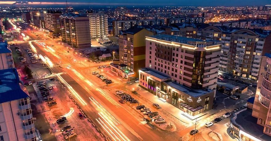 Официальное фото Бизнес-отеля Азия 4 звезды