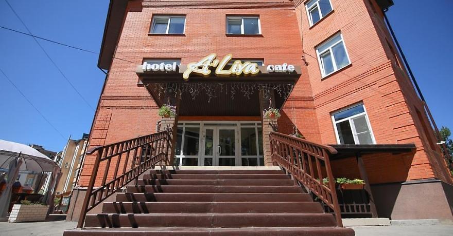 Официальное фото Отеля А'Лива 3 звезды