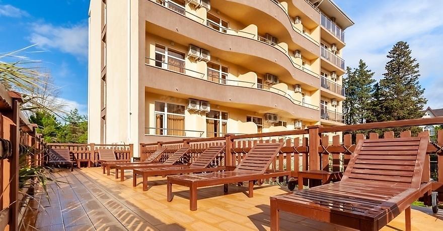 Официальное фото Отеля Грейс Кристалл 3 звезды