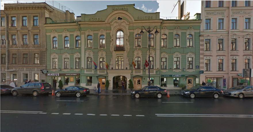 Официальное фото Отеля Гельвеция 5 звезды