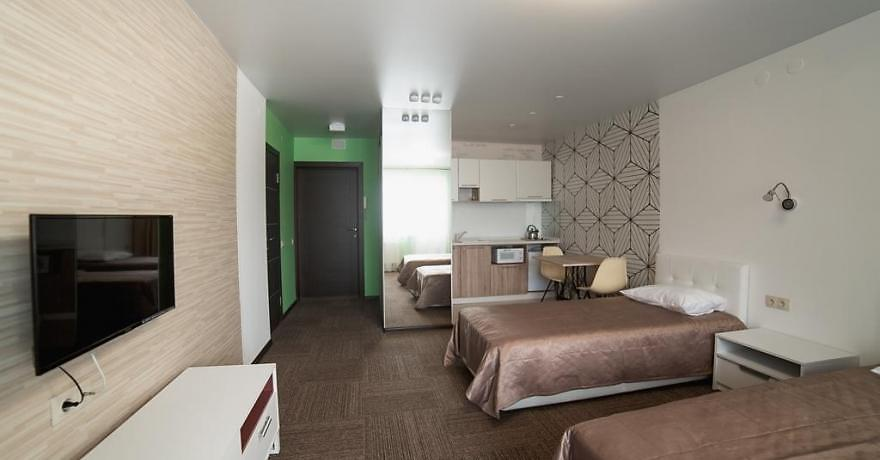 Официальное фото Апарт-Отеля Кембридж 3 звезды