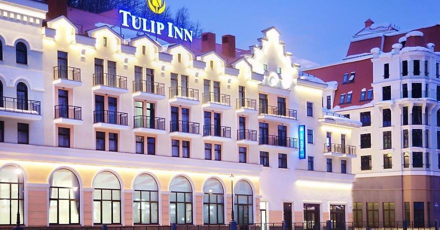 Официальное фото Отеля Тюлип Инн Роза Хутор 3 звезды