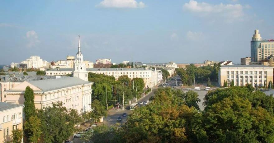 Официальное фото Бизнес-отеля Азимут Воронеж 3 звезды