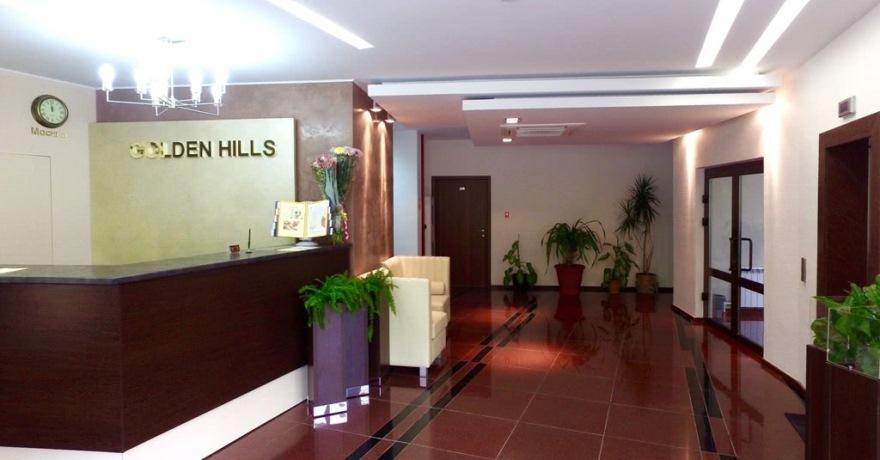 Официальное фото Гостинично-ресторанного комплекса Голден Хиллс 3 звезды