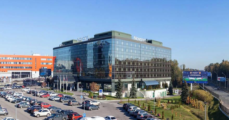 Официальное фото Гостиницы Новотель Аэропорт Шереметьево 4 звезды