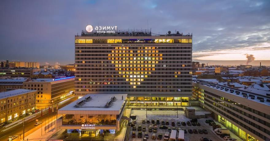 Официальное фото Отеля Азимут Санкт-Петербург 4 звезды