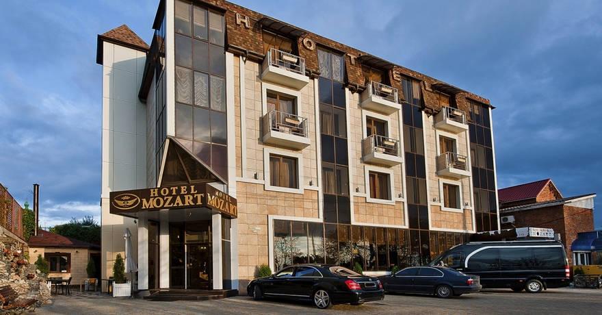 Официальное фото Отеля Моцарт 4 звезды