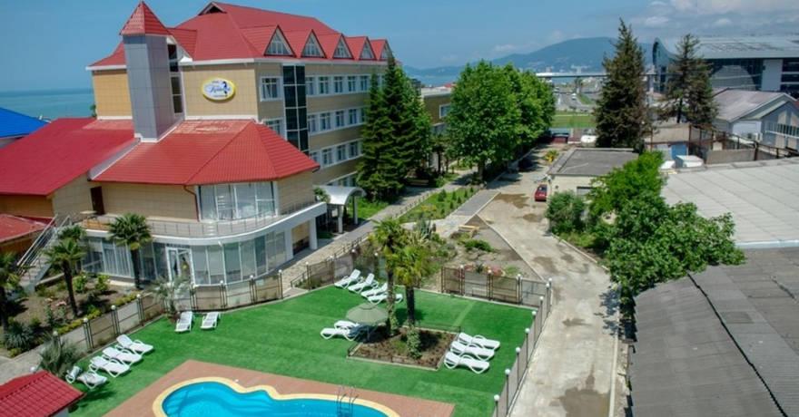 Официальное фото Отеля Каисса 3 звезды