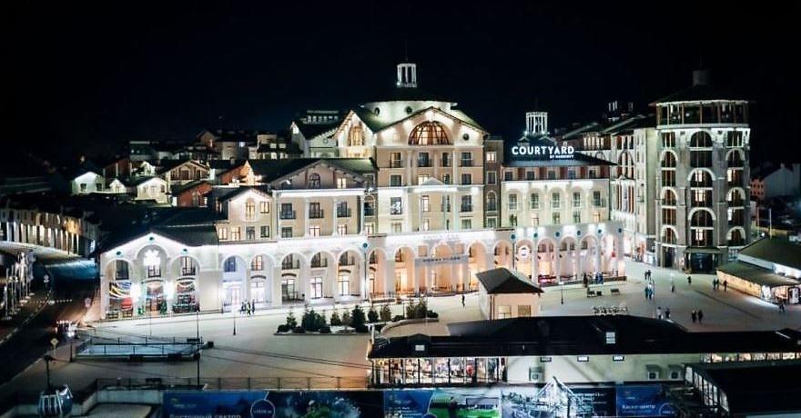 Официальное фото Отеля Кортъярд Марриотт Сочи Красная Поляна 4 звезды