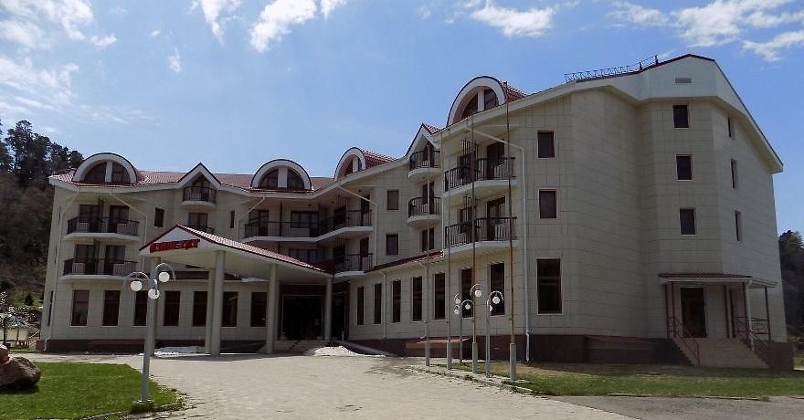 Официальное фото Туристического комплекса Азиш-Тау  звезды