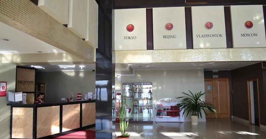 Официальное фото Отеля Азимут А-ОТЕЛЬ Амурский залив 3 звезды