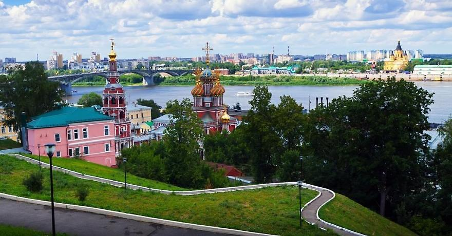 Официальное фото Отеля Азимут Нижний Новгород 4 звезды