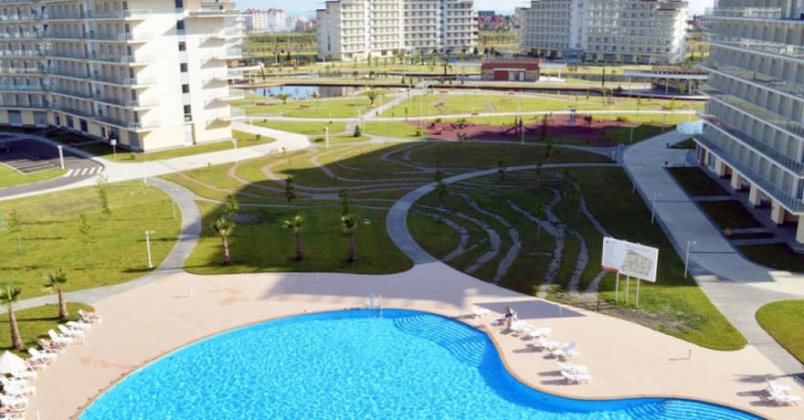 Официальное фото Курортного комплекса Сочи Парк Отель 3 звезды