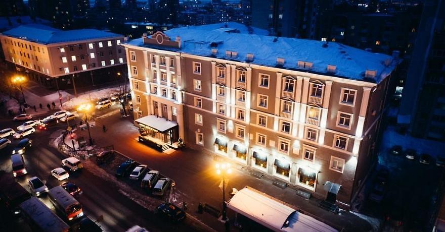 Официальное фото Гостиницы Амур 4 звезды