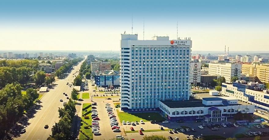 Официальное фото Отеля Азимут Кемерово 4 звезды