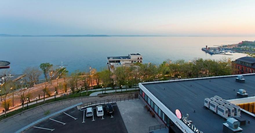 Официальное фото Отеля Азимут Владивосток 4 звезды