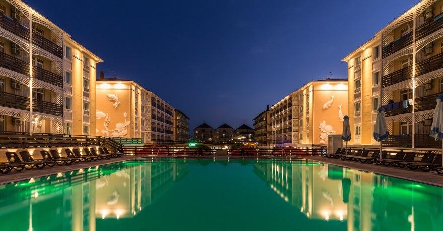 Официальное фото Отеля Гранд Круиз 3 звезды
