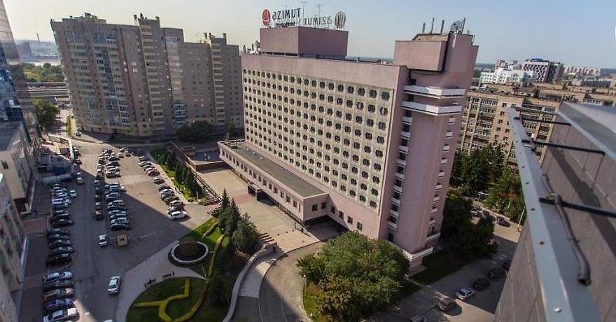 Официальное фото Отеля Азимут Сибирь 3 звезды